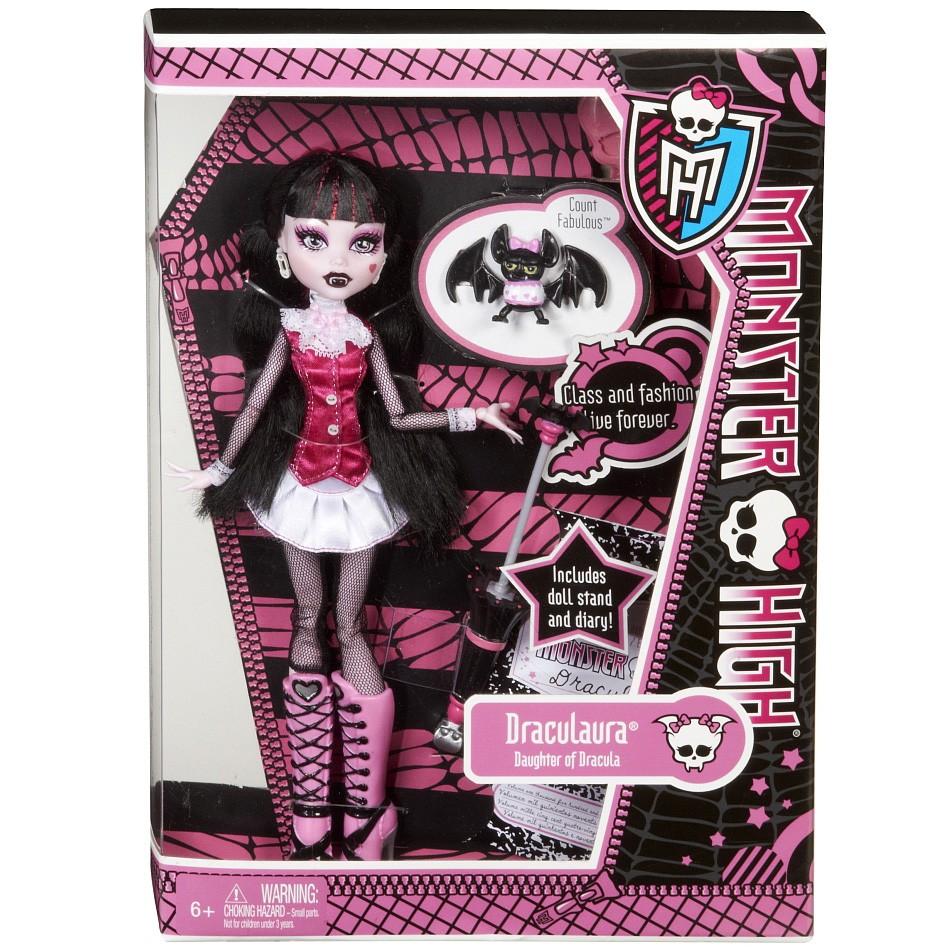 Дракулаура - кукла Базовая с питомцем (Draculaura Basic) / Монстр Хай