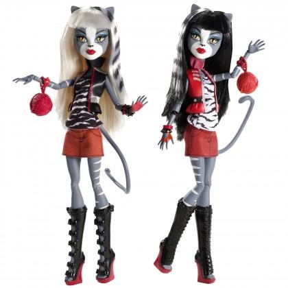 Пурсефона и Мяулоди - набор кукол