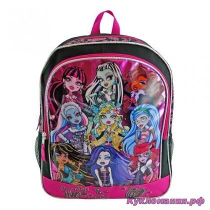 15aba2e6bf69 Купить рюкзаки и сумки для школы Монстр Хай - Кукломания