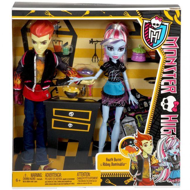 Эбби Боминейбл и Хит Бёрнс набор кукол серия Ужасное Домоводство ...