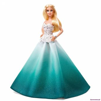 Barbie 2016 Holiday Doll (блондинка)