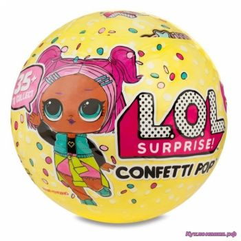 L.O.L. Surprise Confetti Pop Tots - кукла-сюрприз в шарике (3 серия)