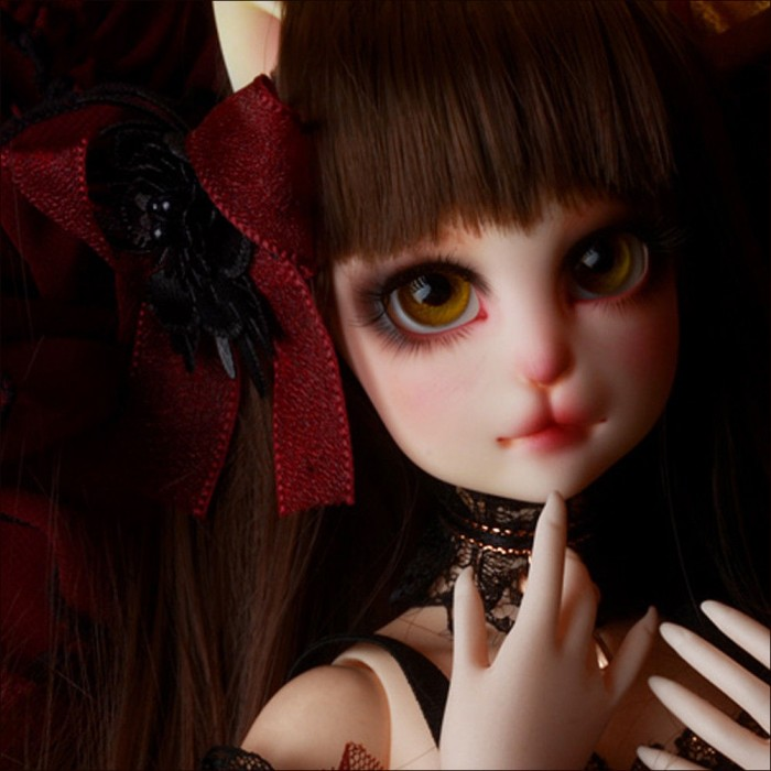 Француженка Реаа - Catish Girl Doll Klasse Cancan Dark Eyes Reaa