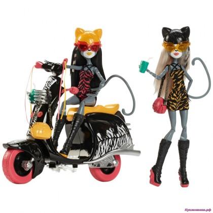 фото кукол монстер хай мяулодия и пурсефона